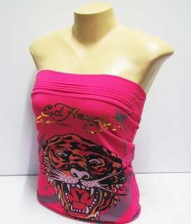 Pink t shirt women fashion sleeveless tank tops Tiger d.g. p269 size S