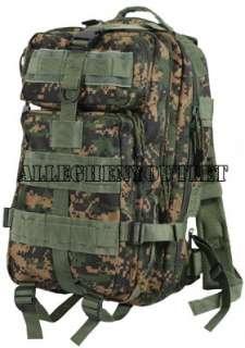 Military Level III M Transport MOLLE Assault Pack Bag Backpack