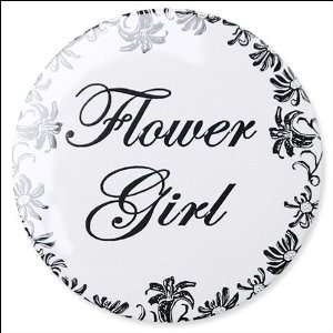 Bridal Button   WD2   Flower Girl