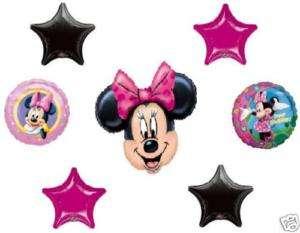 Disney Minnie Mouse Happy Birthday Party Balloons