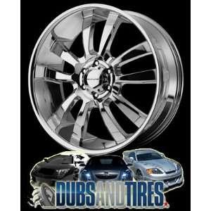 20 Inch 20x8.5 KMC wheels SKITCH Chrome wheels rims
