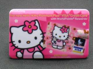 Hello Kitty credit card size  player 2GB 11