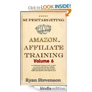 Affiliate Marketing Course): Ryan Stevenson:  Kindle Store