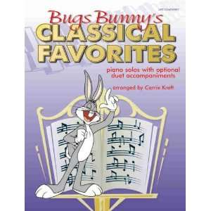 Bugs Bunnys Classical Favories Piano Solos wih