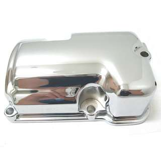 Chrome 5 Speed Transmission Top Cover for 86 06 Harley