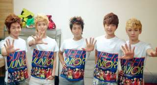 SUPER JUNIOR   Mr. Simple T Shirts (Limited) 3 Types