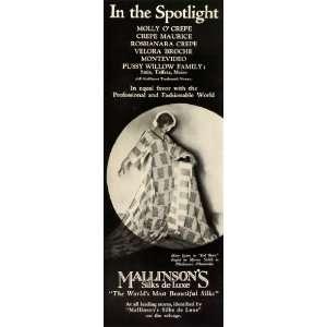 Actress Singer Dancer Mary Eaton   Original Print Ad