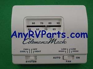 Coleman Wall Thermostat 7330G3351 Heat Cool