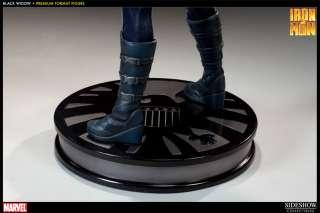 IRON MAN 2 Statue BLACK WIDOW Premium Sideshow PRECO