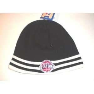 Adidas Reversible Black Team Logo Knit Beanie Hat