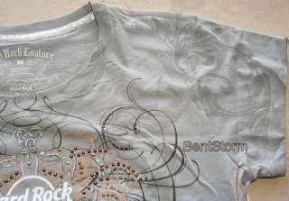 Hard Rock Cafe Honolulu Hawaii ladies COUTURE S T Shirt
