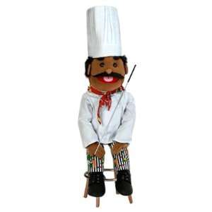 African American Dad/Chef Soft Puppet: Office Products