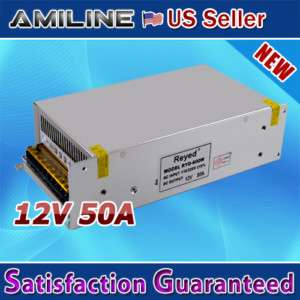 12V 50A Switching Power Supply for LED Strip light New |