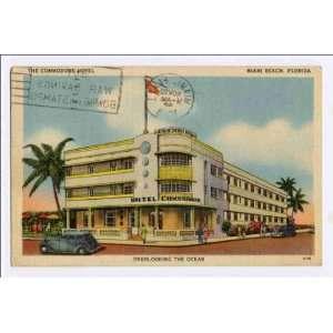 Hotel, Miami Beach, Florida, overlooking the Ocean: Home & Kitchen