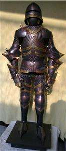 MINIATURE 15th CENTURY GERMAN GOTHIC BODY ARMOUR SUIT