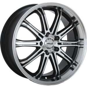 Maxxim Ferris 15x6.5 Machined Black Wheel / Rim 4x100 & 4x4.5 with a