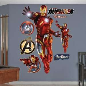 Iron Man The Armored Avenger Fathead Toys & Games