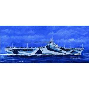 Models 1/700 USS Ticonderoga CV14 Aircraft Carrier Kit Toys & Games