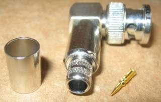 Ideal Industries Part 85 575 90° Degree BNC Plug RG 6