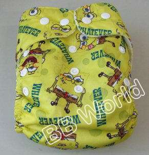 Baby Toddler Infant Reusable 1 Cloth Diaper nappy + 1 insert re usable