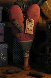 PATTERN Valentine Melon Heart Make Do Doll TBP