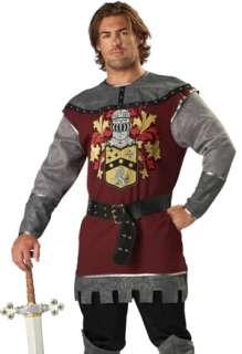 Mens Adult Knight Medieval Halloween Costume Plus Sz 2X