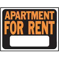 NEW LOT 10 HY KO APARTMENT FOR RENT SIGNS PLASTIC 9X12