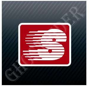 Gas Gasoline Fuel Pump Station Racing Sticker Decal