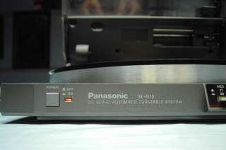 Panasonic Model SL N15 Linear Tracking Turntable Refurb