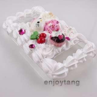 New Hello Kitty Cake Cream Case Cover for HTC EVO 4G