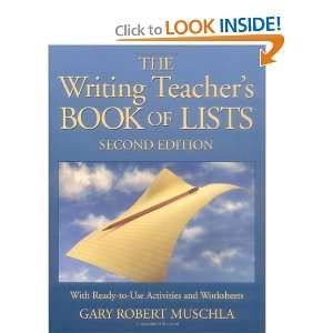 The Writing Teachers Book of Lists with Ready to Use