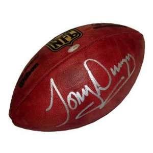 Tony Dungy Autographed NFL Football Sports Football