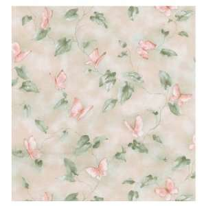 Brewster Wallcovering Butterfly Wallpaper UK1011: Baby