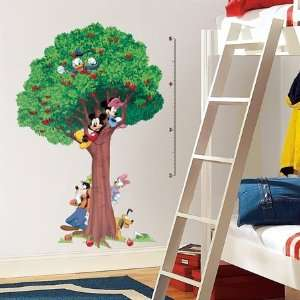 Mickey & Friends Peel & Stick Growth Chart Everything