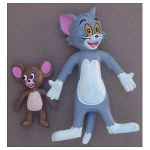 Tom & Jerry Bendable Figure Set