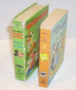 Vintage Mickey Mouse Tweety Big Little Books