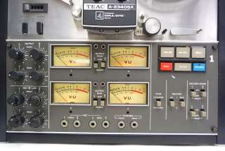 2340SX 4 CHANNEL SIMUL SYNC STEREO REEL TO REEL TAPE DECK RECORDER 4CH