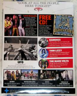 CLASSIC ROCK April 2012 + CD VAN HALEN Ramones QUEEN EARLY YEARS