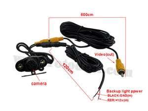 Car rear view Reverse Waterproof Camera night vision Camerawith IR