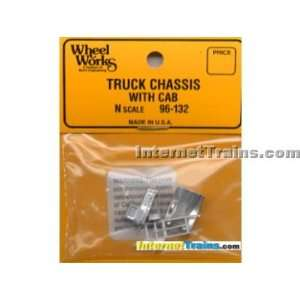 Micro Engineering N Scale Truck Chassis w/Cab Toys & Games
