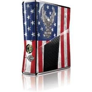 Skinit Harley Davidson Eagle Logo on American Flag Vinyl