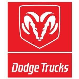 Dodge Trucks vynil car sticker window decal 5 x 4
