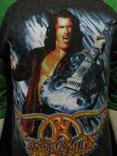 AEROSMITH T Shirt Nine Lives Tour 1997 Men T Shirt L