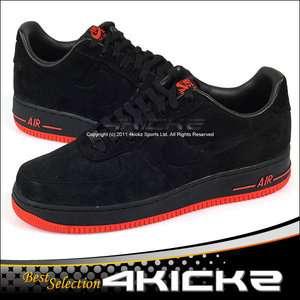 Nike Air Force 1 Low VT Prm Vac Tech Premium Black/Max Orange Suede