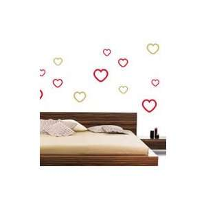 What is lovehearts wall stickers (set of 32)