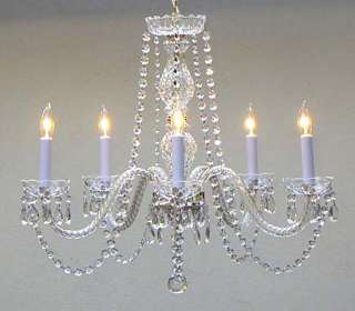 FRENCH Style CRYSTAL Chandelier ROMANTIC Shabby NEW