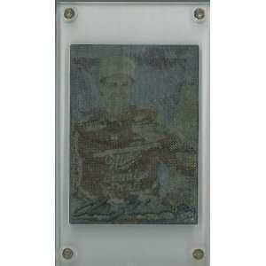 unsigned Nascar 24 Karat Gold Signature Card  LTD