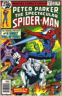 The Spectacular Spider Man Comic Book #25, 1978 VERY FINE