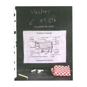 Vaches et Cie : Au point de croix (9782501059381): Corinne