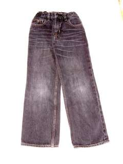 GAP KIDS Black Distressed ORIGINAL FIT Jeans 7 SLIM Boy